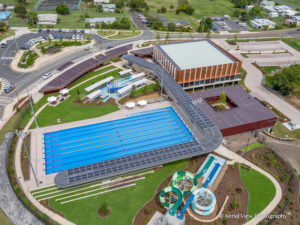 Gympie Aquatic Center - Solar Installation